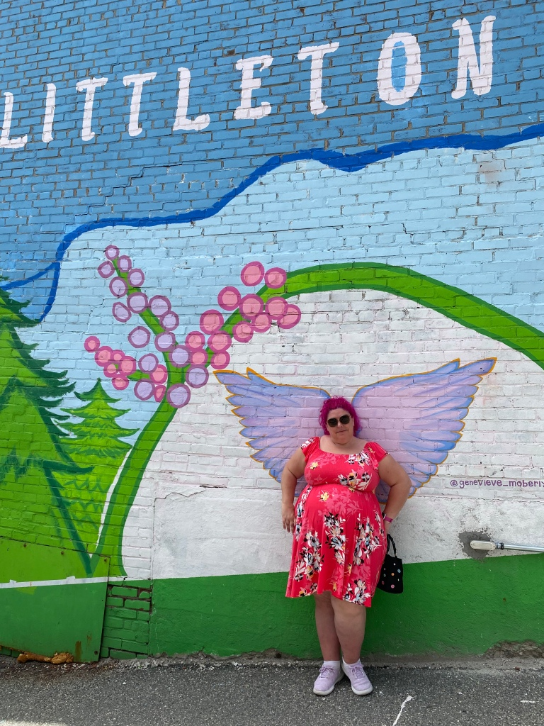 Littleton New Hampshire wing mural